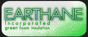 EARTHANE green foam insulation